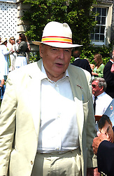 "The DUKE OF RICHMOND & GORDON at a luncheon hosted by Cartier at the 2005 Goodwood Festival of Speed on 26th June 2005.  Cartier sponsored the ""Style Et Luxe' for vintage cars on the final day of this annual event at Goodwood House, West Sussex. <br />