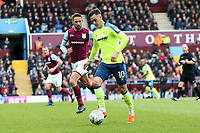 Aston Villa v Derby County - Sky Bet Championship<br /> BIRMINGHAM, ENGLAND - APRIL 28 :  Tom Lawrence, of Derby County gets on the attack at Aston Villa