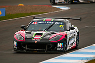 Sam Randon(GBR) Team Hard during the Millers Oil Ginetta GT4 Supercup Championship at Knockhill Racing Circuit, Dunfermline, Scotland on 15 September 2019.