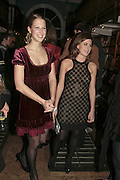 Lady Ella Windsor and Francesca Versace , Book launch of Pretty Things by Liz Goldwyn at Daunt <br />