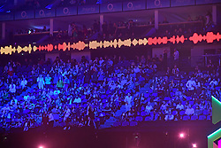 The crowd during the Brit Awards 2021 at the O2 Arena, London. Picture date: Tuesday May 11, 2021.