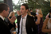 JONATHAN RHYS MEYERS, Raisa Gorbachev Foundation Party, at the Stud House, Hampton Court Palace on June 7, 2008 in Richmond upon Thames, London,Event hosted by Geordie Greig and is in aid of the Raisa Gorbachev Foundation - an international fund fighting child cancer.  7 June 2008.  *** Local Caption *** -DO NOT ARCHIVE-© Copyright Photograph by Dafydd Jones. 248 Clapham Rd. London SW9 0PZ. Tel 0207 820 0771. www.dafjones.com.