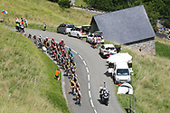 Illustration, Scenery, peloton during the 105th Tour de France 2018, Stage 16, Carcassonne - Bagneres de Luchon (218 km) on July 24th, 2018 - Photo Luca Bettini / BettiniPhoto / ProSportsImages / DPPI