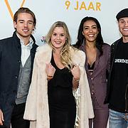 NLD/Katwijk/20191030 - 9 jaar Soldaat van Oranje, Kaj van der Voort met partner Moise Trustfull en Carola Kirschbaum