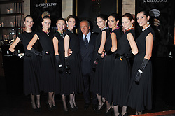 FAWAZ GRUOSI and models at a dinner hosted by de Grisogono at 17 Berkeley Street, London on 12th November 2012.
