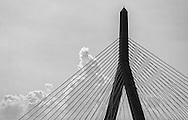 Zakim Bunker Hill Bridge in Boston, Massachusetts.