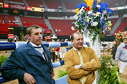 Philippaerts Ludo-Somers Lucien<br /> World Cup Final Jumping Las Vegas 2003<br /> Photo © Dirk Caremans