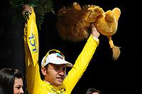 Sykkel<br /> Tour de France<br /> Foto: DPPI/Digitalsport<br /> NORWAY ONLY<br /> <br /> CYCLING - TOUR DE FRANCE 2009 - SAINT GIRONS (FRA) - 11/07/2009 <br /> <br /> STAGE 8 - ANDORRA LA VELLA > SAINT GIRONS - RINALDO NOCENTINI (ITA) / AG2R LA MONDIALE / LEADER