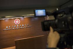 May 4, 2017 - Hong Kong, Hong Kong - The photograph shows the office of Chief Executive-Elect in Hong Kong on May 5, 2017. Hong Kong chief executive-elect Carrie Lam puts Eric Chan Kwok-ki as the director of the interim office. (Credit Image: © Chan Long Hei/Pacific Press via ZUMA Wire)