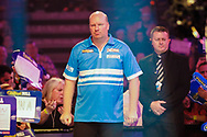 Vincent Van de Voort about to do the walk-on during the Darts World Championship 2018 at Alexandra Palace, London, United Kingdom on 18 December 2018.