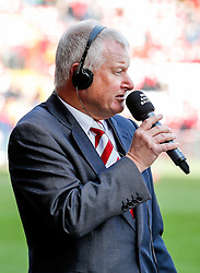 Bristol City majority shareholder Steve Lansdown speaks to BBC Radio Bristol before the match - Photo mandatory by-line: Rogan Thomson/JMP - 07966 386802 - 25/01/2015 - SPORT - FOOTBALL - Bristol, England - Ashton Gate Stadium - Bristol City v West Ham United - FA Cup Fourth Round Proper.