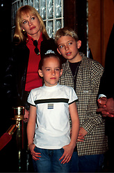 Feb 26, 1998; Los Angeles, CA, USA; Actress MELANIE GRIFFITH with her kids at Planet Hollywood's 'Feed the Children'.  (Credit Image: © Nancy Kaszerman/ZUMAPRESS.com)