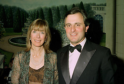 VISCOUNT & VISCOUNTESS ASTOR at a reception in London on 12th June 1997.LZH 103
