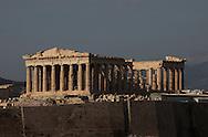 The Parthenon. Photograph by Dennis Brack