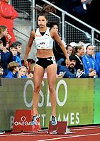 Friidrett , 13. juni 2019 , Bislett Games , Diamond League ,<br /> <br /> <br /> Amalie Juel Norge 400 m hurdles