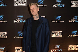 Westwood One Backstage at the American Music Awards Day 2 at the L.A. Live Event Deck. 19 Nov 2016 Pictured: Aaron Carter. Photo credit: David Edwards / MEGA TheMegaAgency.com +1 888 505 6342