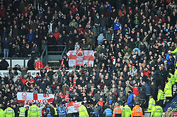 Nottingham Forest fans - Photo mandatory by-line: Dougie Allward/JMP - Mobile: 07966 386802 - 17/01/2015 - SPORT - Football - Derby - iPro Stadium - Derby County v Nottingham Forest - Sky Bet Championship