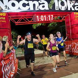 20150711: SLO, Athletics - Nocna 10ka 2015, running around Bled's lake
