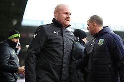 12th February 2017 - Premier League - Burnley v Chelsea - Burnley manger Sean Dyche - Photo: Simon Stacpoole / Offside.