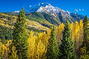 Snowden Peak in Colorado's Rocky Mountains