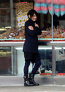 May 8, 2014 - New York City, NY, United States - <br /> <br /> Winona Ryder photo shoot<br /> <br /> Actress Winona Ryder takes part in a photo shoot for Rag and Bone in Coney Island on May 9 2014 in New York City  <br /> ©Exclusivepix