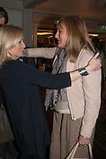 CHRISSIE RUCKER; LIZ DOOGAN-HOBBS; Natwest Everywoman awards reception. The Dorchester Hotel. London. 5 December 2012.