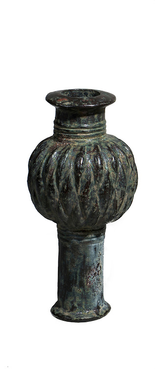 Iranian Bronze macehead 2nd millennium BC 11.8 cm high