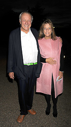 LORD & LADY ROGERS at the Royal Parks Foundation Summer Party hosted by Candy & Candy on the banks of the Serpentine, Hyde Park, London on 10th September 2008.