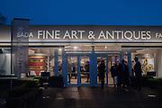 Charity Gala Reception in aid of the Neuroblastoma Society, Bada Antiques and Fine art Fair. Duke of York Sq.  Sloane Sq. London. 19 March 2014.