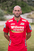 20150626 - OOSTENDE, BELGIUM: Oostende's Bjorn Ruytinx pictured during the 2015-2016 season photo shoot of Belgian first league soccer team KV Oostende, Friday 26 June 2015 in Oostende. BELGA PHOTO KURT DESPLENTER