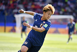 June 10, 2019 - Paris, ile de france, France - Yuika SUGASAWA (JPN) in Action during the match between Argentina and Japan at the 2019 World cup  on June 10, 2019, at the Parc des Princes stadium in Paris, France. (Credit Image: © Julien Mattia/NurPhoto via ZUMA Press)