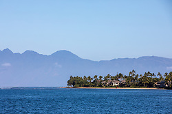 Lahaina With Molokai In The Background