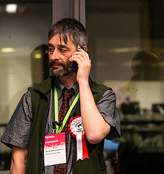 Pictured: Leith Walk Council By-Election. Edinburgh City Council, Edinburgh, Scotland, 11 April 2019. Pictured:  David Don Jacobsen, Socialist Labour Party candidate. 25,526 residents are registered to vote in one of the most densely populated areas in Scotland under the Single Transferable Vote (STV) system. This is the first time in Scotland that an STV by-election has been needed to fill two vacancies in the same ward, held as a result of the resignation of Councillor Marion Donaldson. The election fielded 11 candidates, including the first ever candidate for the For Britain Movement in Scotland, Paul Stirling, founded by former UKIP leadership candidate Anne Marie Waters in March 2018.<br /> <br /> Sally Anderson | EdinburghElitemedia.co.uk