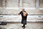 Antonietta Anselmi, contadina Troiana . Troia 29 Maggio 2014.  Christian Mantuano / OneShot