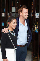 LONDON - July 01: Louise Thompson & Francis Boulle at the A Curious Night at the Theatre - Gala Evening (Photo by Brett D. Cove)