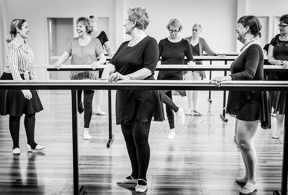 Senior Swans ballet class for over 60s – Nth & Sth  magazine, July 2018