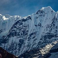 in the Khumbu region of Nepal's Himalaya.