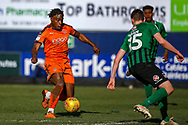 Luton Town midfielder Pelly-Ruddock Mpanzu on the ball during the EFL Sky Bet League 1 match between Luton Town and Coventry City at Kenilworth Road, Luton, England on 24 February 2019.