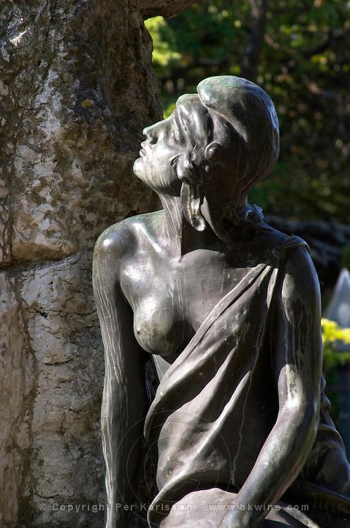 statue praca do principe real square bairro alto lisbon portugal