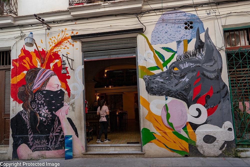 Jibaro Restaurant, Old Havana Cuba 2020 from Santiago to Havana, and in between.  Santiago, Baracoa, Guantanamo, Holguin, Las Tunas, Camaguey, Santi Spiritus, Trinidad, Santa Clara, Cienfuegos, Matanzas, Havana