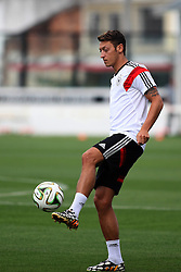 12.07.2014, San Januario Stadium, Rio de Janeiro, BRA, FIFA WM, Deutschland vs Argentinien, Finale, Abschlusstraining, im Bild Mesut Oezil (GER) // German football player Mesut Oezil during a practice session of team Germany prior to Final match between Germany and Argentina of the FIFA Worldcup Brazil 2014 at the San Januario Stadium in Rio de Janeiro, Brazil on 2014/07/12. EXPA Pictures © 2014, PhotoCredit: EXPA/ Eibner-Pressefoto/ Cezaro<br /> <br /> *****ATTENTION - OUT of GER*****