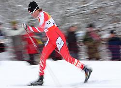 Sara Renner of Canada at Ladies` Pursuit 7,5 km Classic + 7,5 km Free at FIS Nordic World Ski Championships Liberec 2008, on February 21, 2009, in Vestec, Liberec, Czech Republic. (Photo by Vid Ponikvar / Sportida)