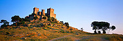 SPAIN, ANDALUSIA Almodovar del Rio, Moorish castle rebuilt by Pedro 1st c 1350 west of Cordoba