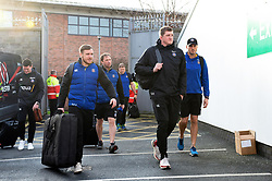 Bath Director of Rugby Stuart Hooper arrives at the Kingspan Stadium - Mandatory byline: Patrick Khachfe/JMP - 07966 386802 - 18/01/2020 - RUGBY UNION - Kingspan Stadium - Belfast, Northern Ireland - Ulster Rugby v Bath Rugby - Heineken Champions Cup