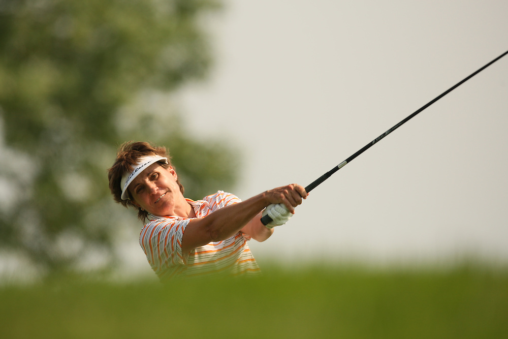 Michelle Redman during the second round of the 2008 McDonald's LPGA Championship at Bulle Rock Golf Club in Havre de Grace, Maryland on Friday, June 6, 2008. .