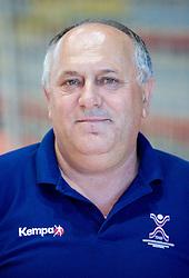 Portrait of Radivoje Stanic of Slovenian Handball Men National Team, on June 4, 2009, in Arena Kodeljevo, Ljubljana, Slovenia. (Photo by Vid Ponikvar / Sportida)