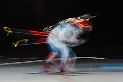 February 11, 2018 - Pyeongchang, Gangwon, South Korea - Michal Slesingr ofCzech Republic at Mens 10 kilometre sprint Biathlon at olympics at Alpensia biathlon stadium, Pyeongchang, South Korea on February 11, 2018. (Credit Image: © Ulrik Pedersen/NurPhoto via ZUMA Press)