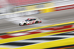 March 2, 2018 - Las Vegas, Nevada, United States of America - March 02, 2018 - Las Vegas, Nevada, USA: Erik Jones (20) takes to the track to practice for the Pennzoil 400 at Las Vegas Motor Speedway in Las Vegas, Nevada. (Credit Image: © Justin R. Noe Asp Inc/ASP via ZUMA Wire)