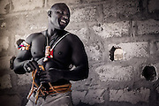 Wrestling is the national sport in Senegal. Sculptural black bodies fight for a prize that years ago used to be rice, a woman, a piece of land or honor and now has become into thousands of dollars and glory for the best ones. But the most important part of the Senegalese wrestling - the magic - still remains intact from the origins of the sport and therefore the Marabouts keep preparing different good-luck charms, potions and spells to enforce and bless the fighter.