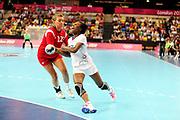 DESCRIZIONE : France Hand Jeux Olympiques Londres <br /> GIOCATORE : DEMBELE Siraba FRA<br /> SQUADRA : France Femme<br /> EVENTO : FRANCE Hand Jeux Olympiques<br /> GARA : FRANCE NORVEGE<br /> DATA : 28 07 2012<br /> CATEGORIA : Hand Jeux Olympiques<br /> SPORT : Handball<br /> AUTORE : JF Molliere <br /> Galleria : France Hand 2011-2012 Action<br /> Fotonotizia : France Hand Femme Hand Jeux Olympiques Londres